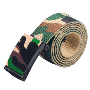 G15-317 Camouflage Belt with metal Buckle