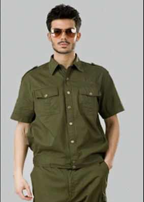 G3-381 soft fabric Solid-Color Military Uniforms