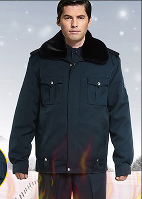 G4-323 Security Guard Uniforms for winter
